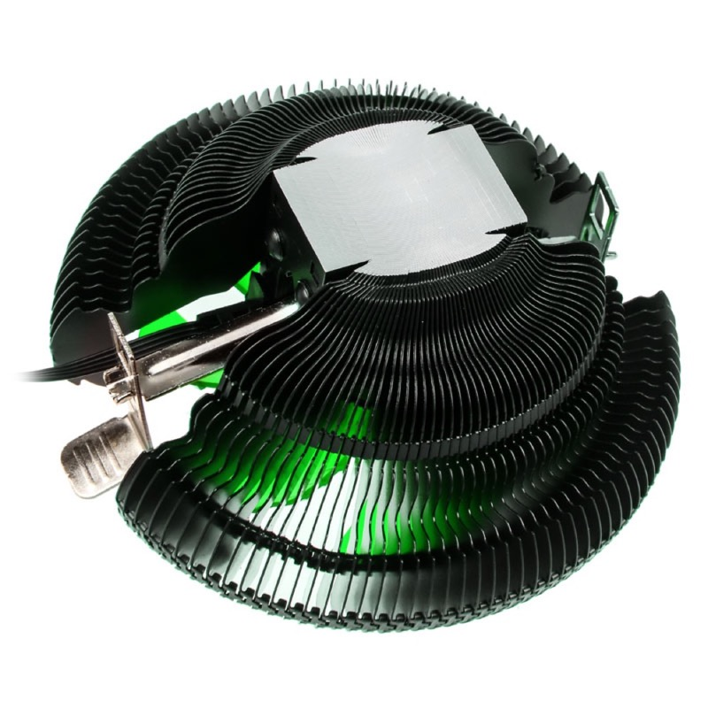 Raijintek Juno-X CPU Cooler - Green LED - PWM - 92mm