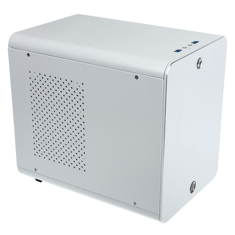 Raijintek METIS Mini-ITX Case - White - Window