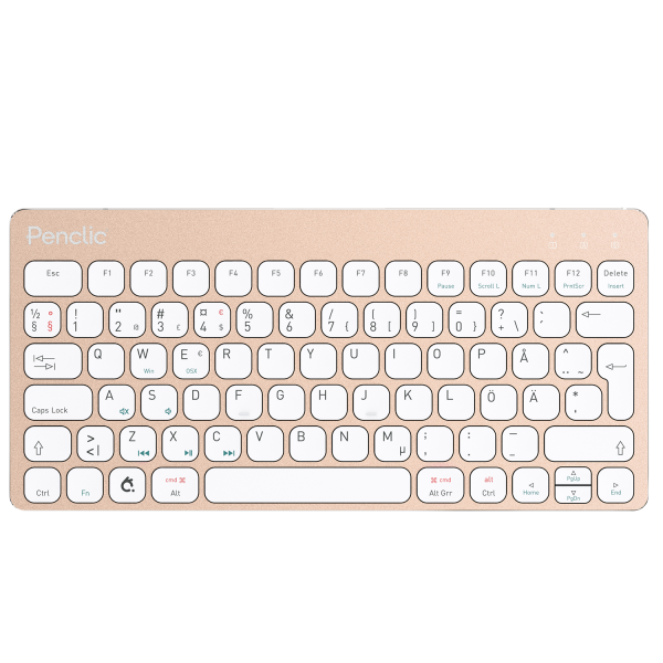 Penclic Mini Keyboard KB3 Se/Fi - Gold