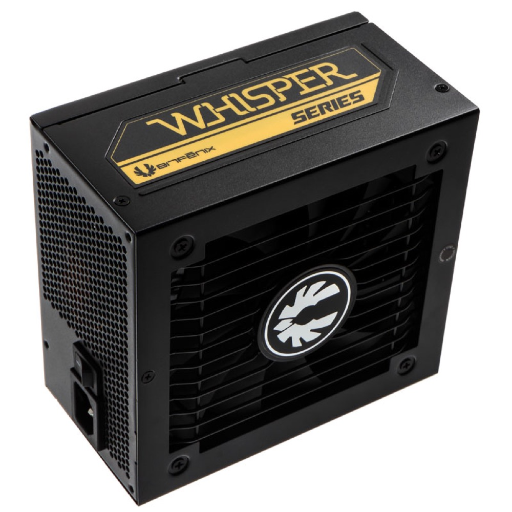 BitFenix Whisper M PSU - 750W - 80 Plus Gold - Modular