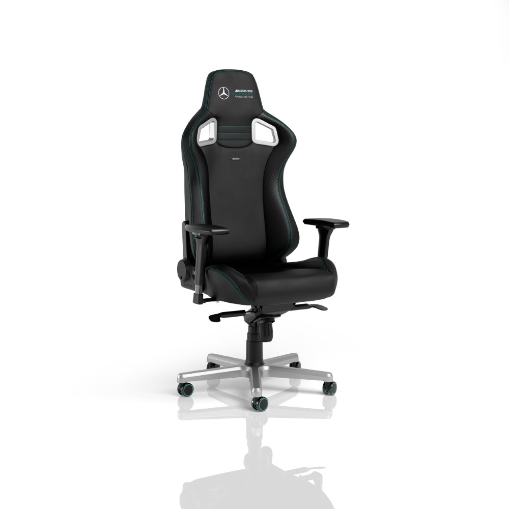 noblechairs EPIC Gaming Chair - Mercedes-AMG Petronas Formula One Team 2021 Edition