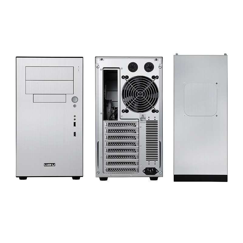 Lian Li PC-A05FNA Midi-Tower Case - Silver