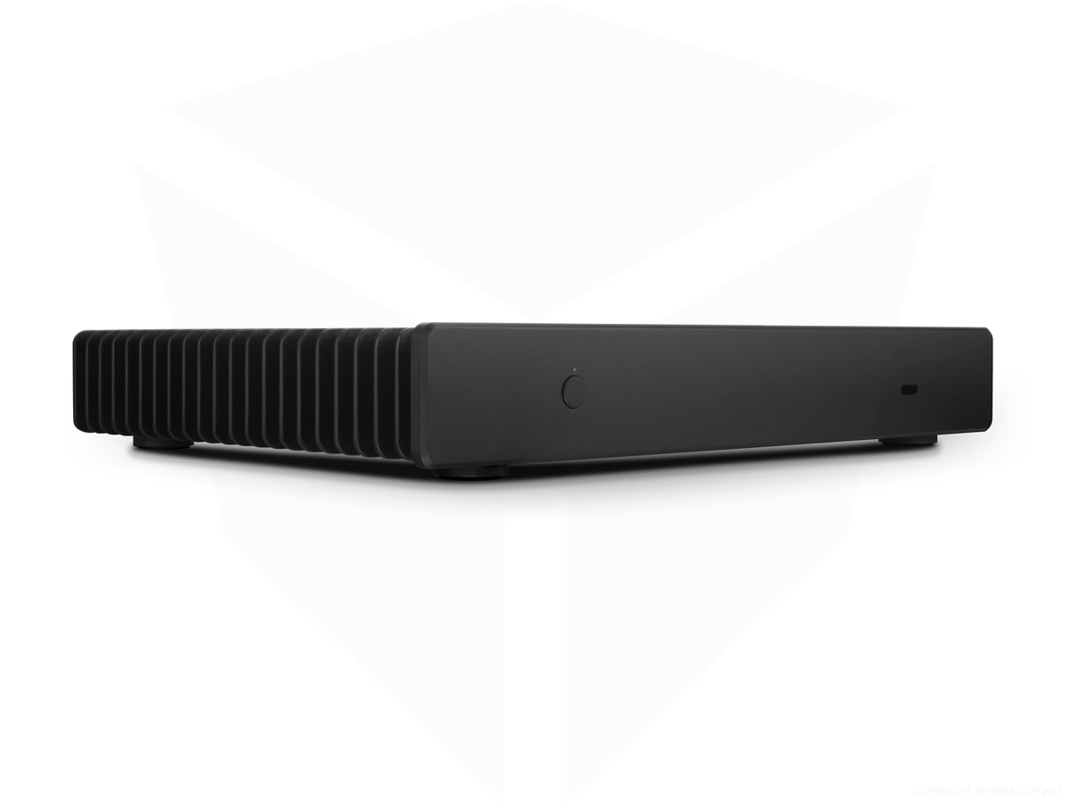 Streacom FC5 ALPHA Fanless Chassis Black, Extruded Aluminum, Without Optical slot