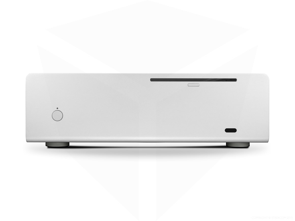 Streacom FC9 Fanless Chassis Silver, Extruded Aluminium ,  , with Optical slot