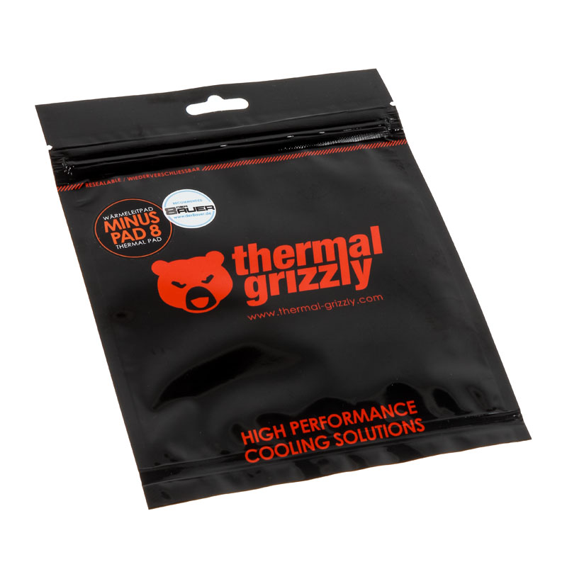 Thermal Grizzly Minus Pad 8 - 20x 120x 1,0 mm - 2 Pack