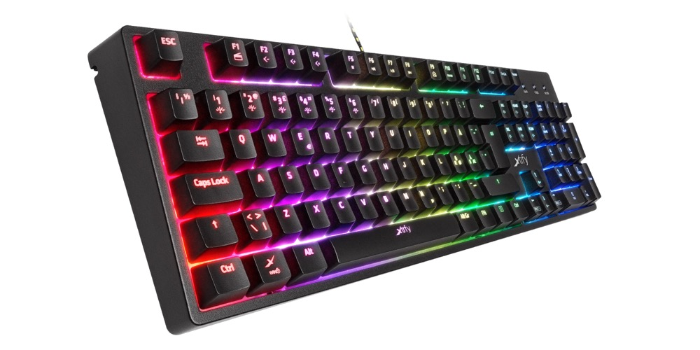 Xtrfy K3 Mem-chanical gaming keyboard with RGB LED
