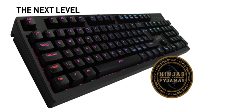 Xtrfy XG1-R LED Keyboard - UK VERSION